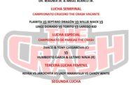 Próximo Evento The Crash Lucha Libre en Tijuana
