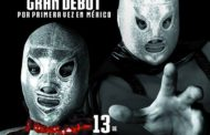 El gran debut del Santo Jr. en Tijuana con The Crash