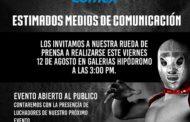 Rueda de prensa Viernes 12 de Agosto en Galerías Hipódromo