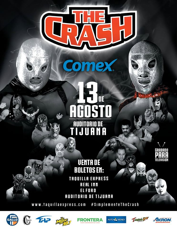 Carteleras The Crash