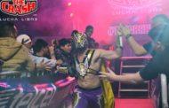 ¡Ángel Metálico, Oráculo y Black Boy, son los vencedores de la segunda lucha!